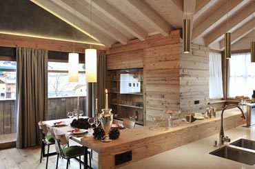 Chalet Ladina - Dolomites Summer and winter holidays